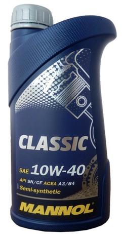 МАСЛО CLASSIC HIGH POWER 10W40 1Л П/СИНТ (Mannol/Германия)