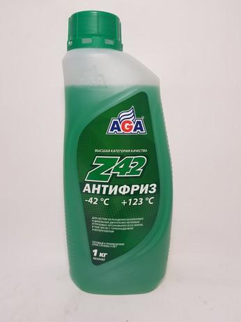 АНТИФРИЗ AGA048Z ЗЕЛЕНЫЙ 1КГ (Москва)
