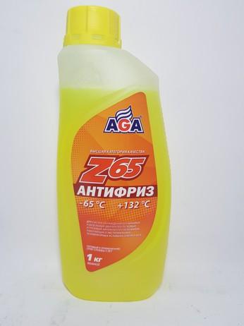 АНТИФРИЗ AGA042Z ЖЕЛТЫЙ 1КГ (Москва)