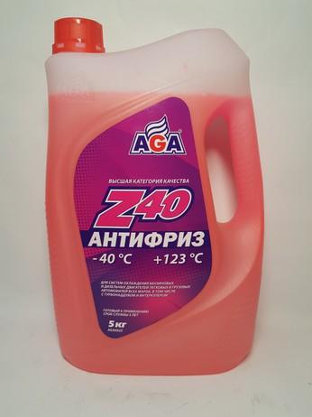 АНТИФРИЗ Z-002 КРАСНЫЙ 5КГ (Москва)