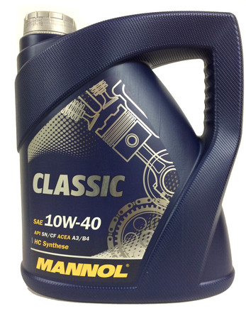 МАСЛО CLASSIC HIGH POWER 10W40 4Л П/СИНТ (Mannol/Германия)