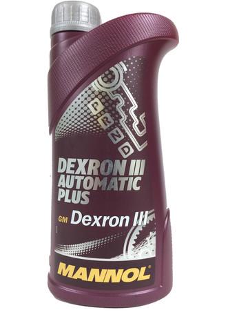 МАСЛО ТРАНСМ AVTOMATIC PLUS ATF DEХTRON III 1Л (Mannol/Германия)