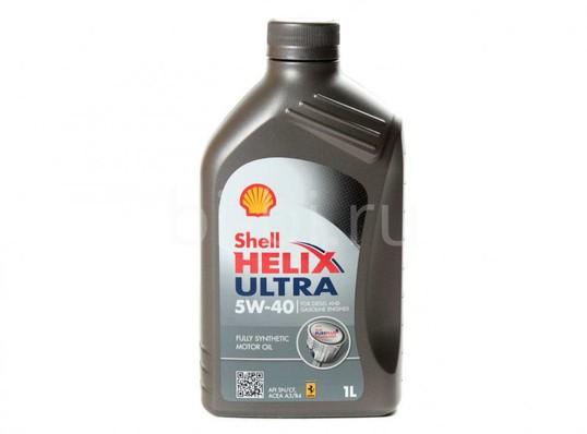 МАСЛО HELIX ULTRA 5W40 1Л СИНТЕТИК (Shell)